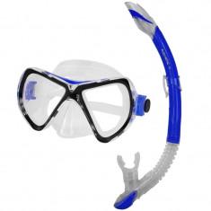 Tuna+Zefir Diving Set albastru - Snorkeling