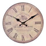 Ceas de perete Chateau Joullian, 28 cm, model vintage, Oem