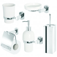 Set 5 accesorii Deluxe - Set mobilier baie