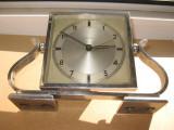 7574-I-Ceas Mauthe masa Art Deco 1930 stativ Lira nefunctional raritate.