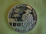 SOLOMON ISLANDS -  10 dollars 1991 Argint 925, Africa