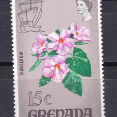 Grenada 1970 flori MI 349 MNH w45 - Timbre straine, Nestampilat
