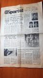 Ziarul sportul 15 iulie 1985-20 ani de cand ceausescu este secretar general PCR
