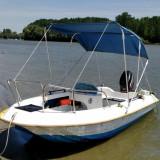 Barca Angelo Molinari 410 cu motor Mercury 40CP si peridoc
