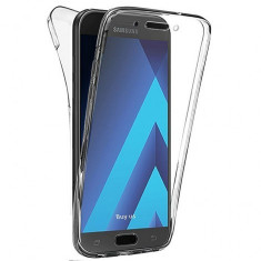 Husa Samsung Galaxy J5 2017 Full Body TPU Transparenta, Alt model telefon Samsung, Transparent, Gel TPU