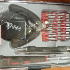 Trusa scule mini, mecanica fina 35 piese