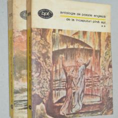Antologie de poezie engleza de la inceputuri pana azi - Vol. 2+4 - Carte poezie