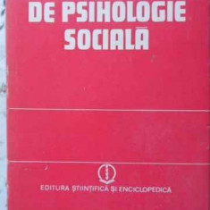 Dictionar De Psihologie Sociala - Colectiv, 405934 - Carte Psihologie