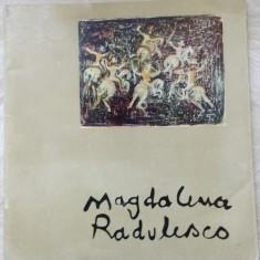 CATALOG MAGDALENA RADULESCU (EXPOZITIA DE LA ATENEUL ROMAN, BUCURESTI 1970) - Album Arta