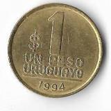 Moneda 1 peso 1994 - Uruguay, America Centrala si de Sud