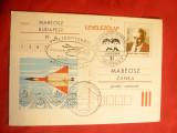 Carte Postala - Aviatie- Ungaria , stampila speciala de elicoptere