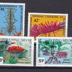 Noua Caledonie 1978/81 2 serii flori MNH w45 - Timbre straine, Nestampilat