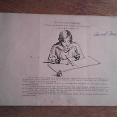 CURS DE CALIGRAFIE, 1920 - Carte veche