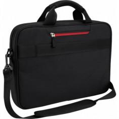 Geanta laptop Case Logic DLC115, pana la 15.6 Inch, Negru, Nailon