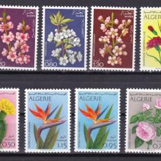 Algeria 1969/73/75 3 serii flori MNH w45 - Timbre straine, Nestampilat