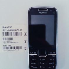 Telefon Nokia e52 negru / produs original / necodat - Telefon mobil Nokia E52, Neblocat