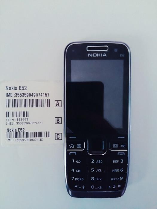 Telefon Nokia e52 negru / produs original / necodat