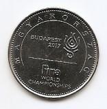 Ungaria 50 Forinti 2017 - FINA World Championship Budapest, KM-New UNC !!!, Europa