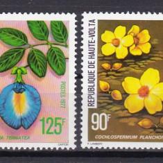 Volta 1977 flori MI 679-82 MNH w45 - Timbre straine, Nestampilat