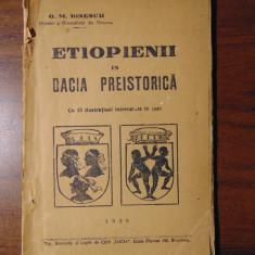 Etiopienii in Dacia Preistorica - G.M.Ionescu (1926) - Carte veche