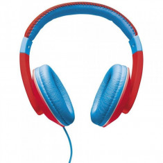 Casti audio Trust Sonin pentru copii, 3.5 mm Jack, Rosu/Albastru - Casca PC