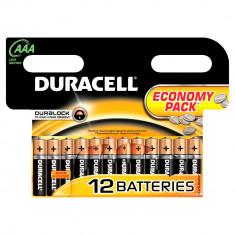 Aproape nou: Baterie alcalina Duracell AAA sau R3 cod 81480556 blister cu 12bc - Baterie Aparat foto