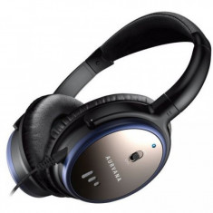 Casti audio Creative Aurvana ANC, 3.5 mm Jack, difuzoare 40 mm, Negru/Albastru - Casca PC