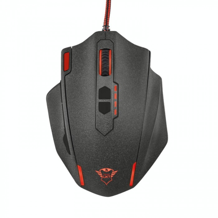 Mouse gaming Trust GMS-505 , USB , Optic , 4000 DPI , Negru foto mare