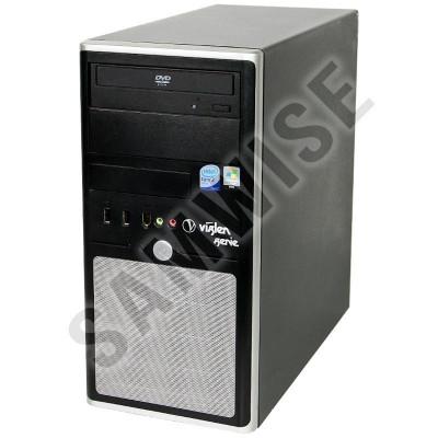 Sistem PC Intel 2x3,16 Ghz 8 Gb DDR2 hdd 160 Gb+ 500 Gb DVDRW+Monitor L172 foto
