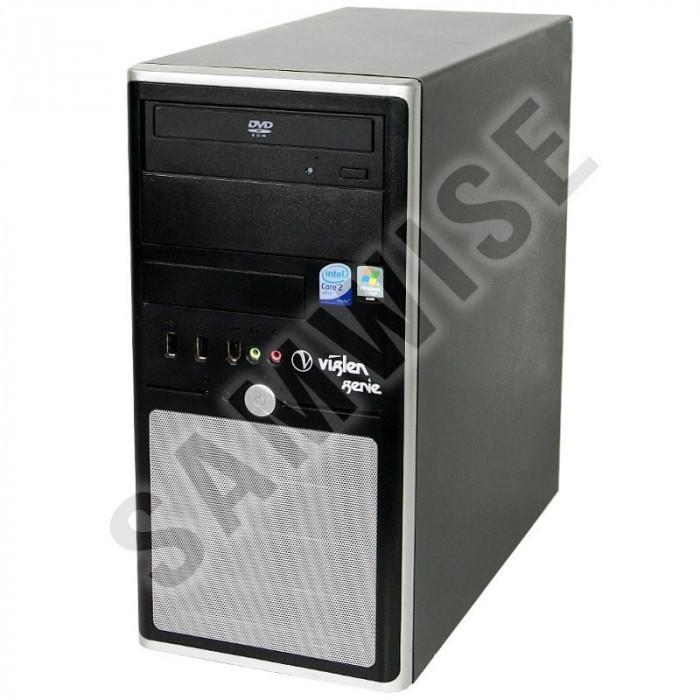 Sistem PC Intel 2x3,16 Ghz 8 Gb DDR2 hdd 160 Gb+ 500 Gb DVDRW+Monitor L172