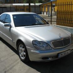 MERCEDES S 400, An Fabricatie: 2001, Motorina/Diesel, 256000 km, 3998 cmc, Clasa S