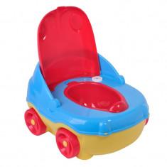 Olita muzicala 3 in 1, scaun detasabil, model masina