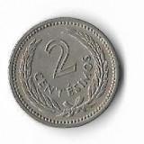 Moneda 2 centesimos 1953 - Uruguay, America Centrala si de Sud