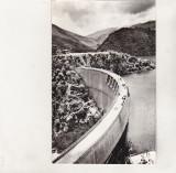 Bnk cp Barajul Negovanu si lacul de acumulare Sadu - vedere - uzata, Circulata, Printata