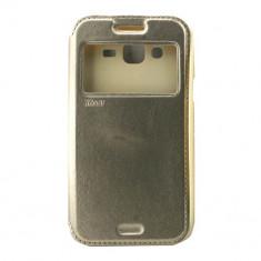 Toc Roar Noble Samsung J5 Auriu - Husa Telefon Atlas, Piele Ecologica