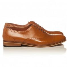 Cristina Maxim Oxford light brown - Pantofi barbat, Marime: 41, 42, 43, 44, 45