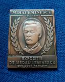 Placheta Mihai Eminescu