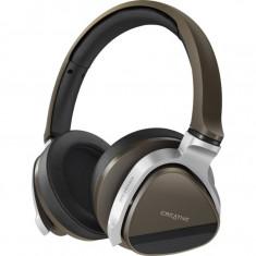 Casti wireless Creative Aurvana Gold, Bluetooth, difuzoare 40 mm, Gri - Casca PC