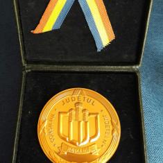 Medalie Romania Cluj - in cutia originala - Medalii Romania