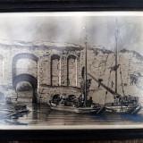 5 fotogravuri vechi Auguste Bohm 1848