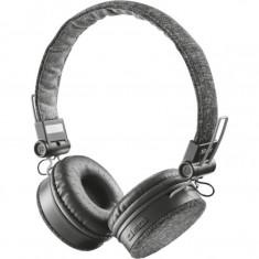 Casti wireless, audio Trust Urban Fyber, Bluetooth 4.0, cu microfon, Negru - Casca PC