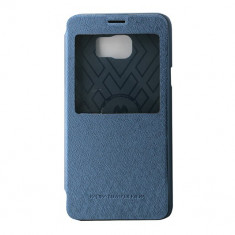 Toc Mercury Wow Samsung Note5 Albastru - Husa Telefon Mercury, Piele Ecologica