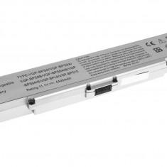 Baterie laptop Sony VGP-BPS9A/B VGP-BPS10 VGP-BPS9B argintiu 6 celule, 4400 mAh