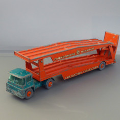 Guy Warrior Car Transporter, Matchbox King Size - Macheta auto