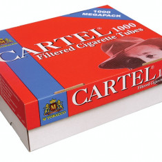 CARTEL 1000 x 2 (2000 tuburi) + 1 aparat standard cu spatula - Foite tigari