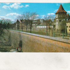 Bnk cp Sibiu - Vedere - circulata - Carte Postala Transilvania dupa 1918, Printata