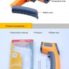 Termometru digital cu infrarosu + Baterii