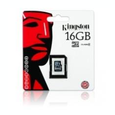 Card memorie Kingston MicroSDHC 16Gb fara adaptor Blister