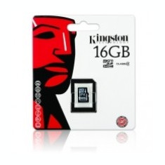 Card memorie Kingston MicroSDHC 16Gb fara adaptor Blister
