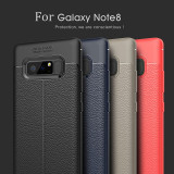 Husa / Bumper Antisoc model PIELE pentru Samsung Galaxy Note 8 / Note8